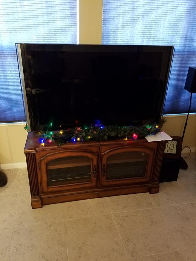 TV garland